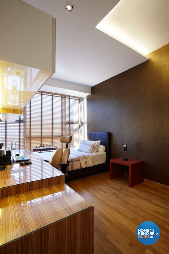 Contemporary, Modern Design - Bedroom - Condominium - Design by Artrend Design