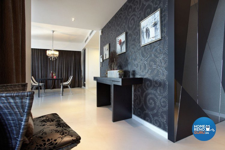 Contemporary, Modern Design - Living Room - Condominium - Design by Artrend Design