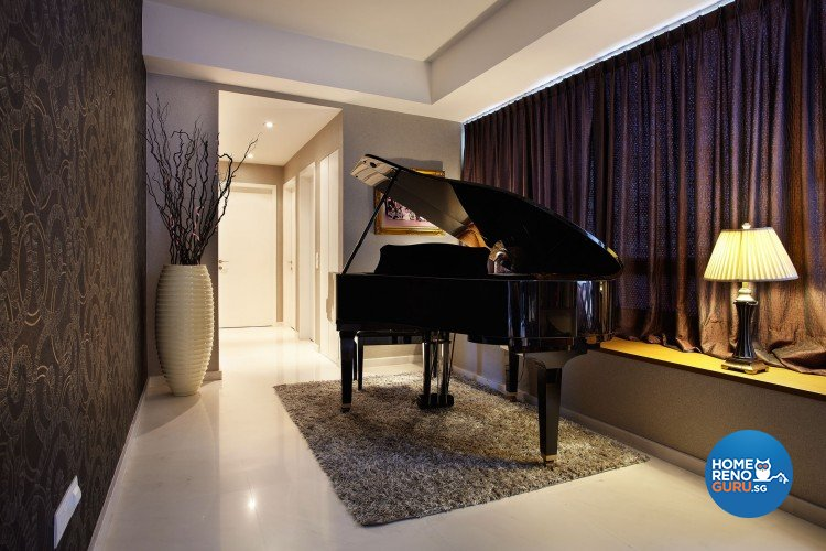 Contemporary, Modern Design - Entertainment Room - Condominium - Design by Artrend Design