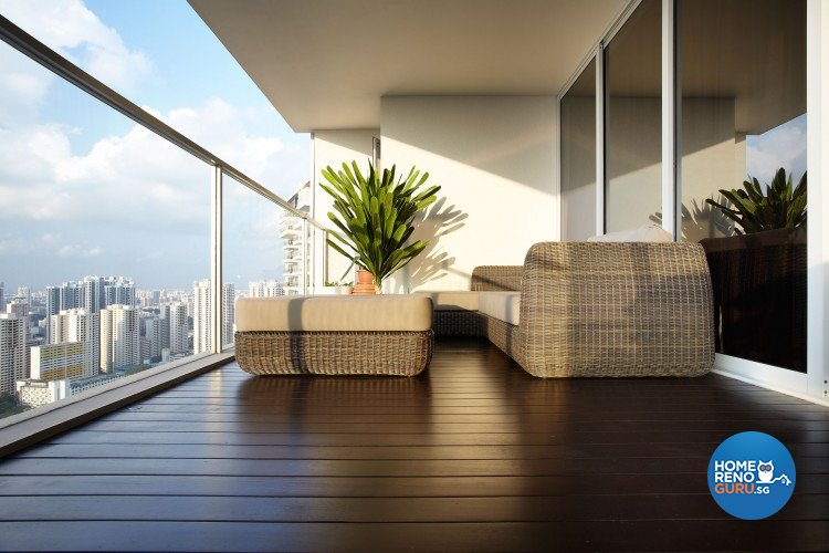 Contemporary, Modern Design - Balcony - Condominium - Design by Artrend Design