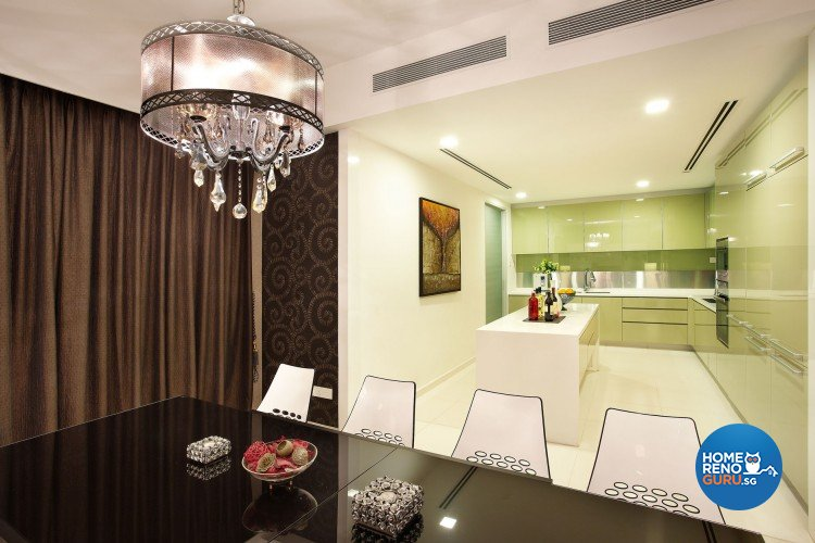 Contemporary, Modern Design - Dining Room - Condominium - Design by Artrend Design