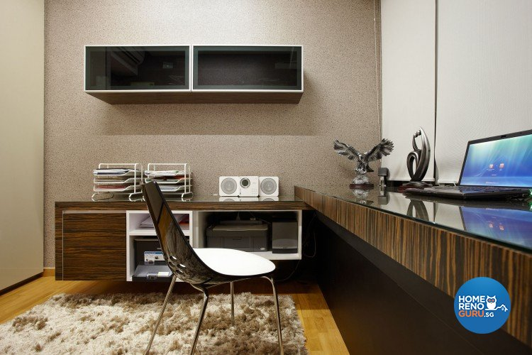 Contemporary, Modern Design - Study Room - Condominium - Design by Artrend Design