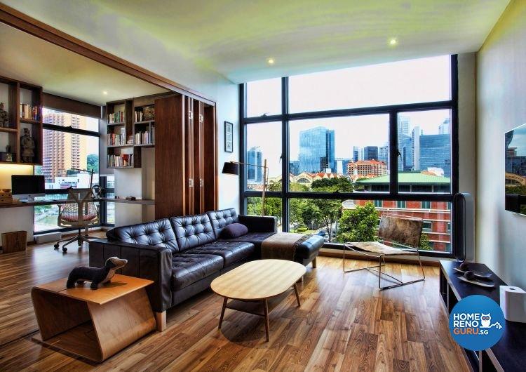 Contemporary, Country, Scandinavian Design - Living Room - Condominium - Design by Artrend Design