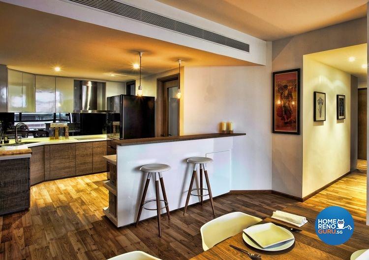 Contemporary, Country, Scandinavian Design - Kitchen - Condominium - Design by Artrend Design