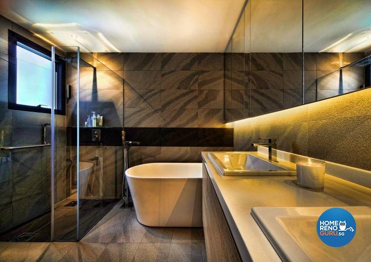 Contemporary, Country, Scandinavian Design - Bathroom - Condominium - Design by Artrend Design