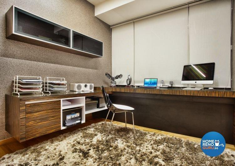 Contemporary, Country, Scandinavian Design - Study Room - Condominium - Design by Artrend Design