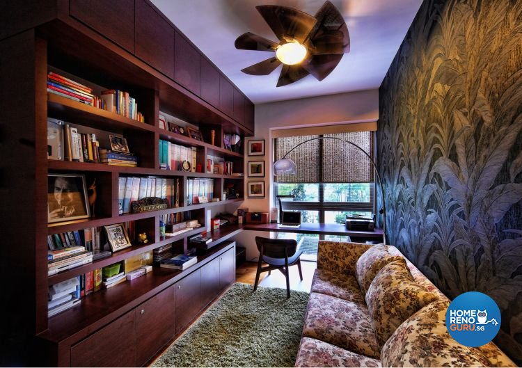 Country, Eclectic, Vintage Design - Study Room - HDB 4 Room - Design by Artrend Design