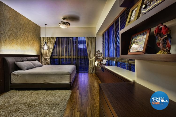 Country, Eclectic, Vintage Design - Bedroom - HDB 4 Room - Design by Artrend Design