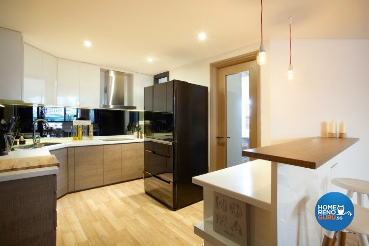 Contemporary Design - Kitchen - Condominium - Design by Artrend Design