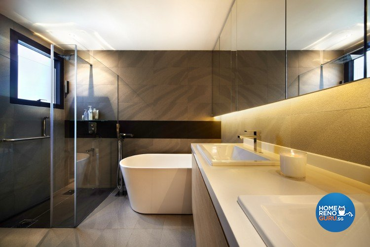 Contemporary Design - Bathroom - Condominium - Design by Artrend Design