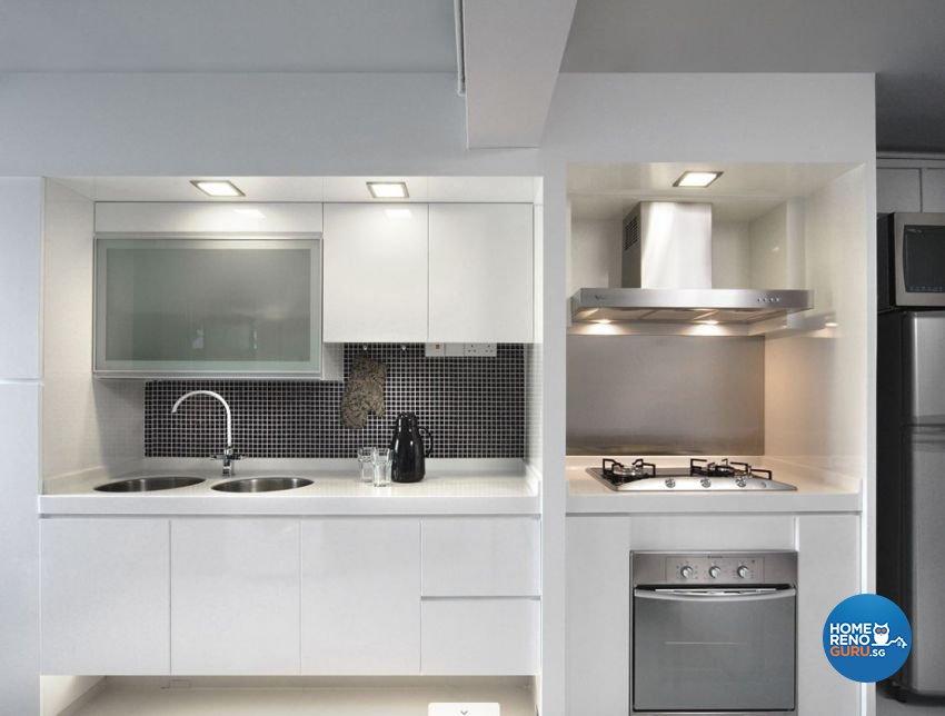 Contemporary, Minimalist, Modern Design - Kitchen - HDB 3 Room - Design by Artrend Design