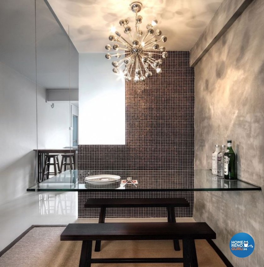 Contemporary, Minimalist, Modern Design - Dining Room - HDB 3 Room - Design by Artrend Design