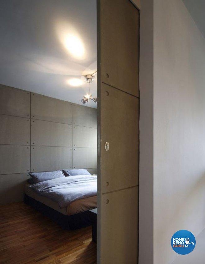 Contemporary, Minimalist, Modern Design - Bedroom - HDB 3 Room - Design by Artrend Design