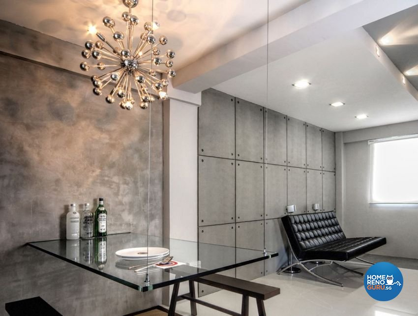 Contemporary, Minimalist, Modern Design - Living Room - HDB 3 Room - Design by Artrend Design
