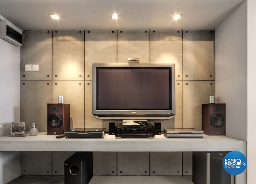 Contemporary, Minimalist, Modern Design - Living Room - HDB 3 Room - Design by Artrend Design