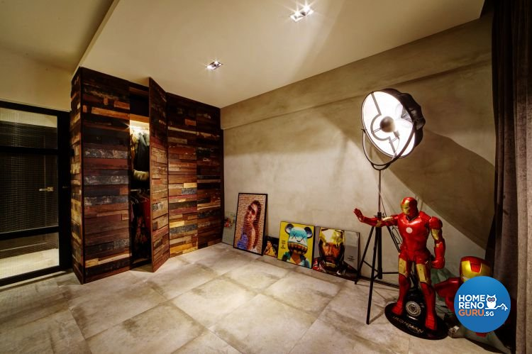 Country, Modern, Rustic Design - Bedroom - HDB 4 Room - Design by Artrend Design