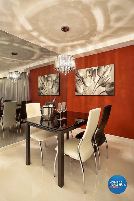 Contemporary, Modern Design - Dining Room - HDB 4 Room - Design by Artrend Design