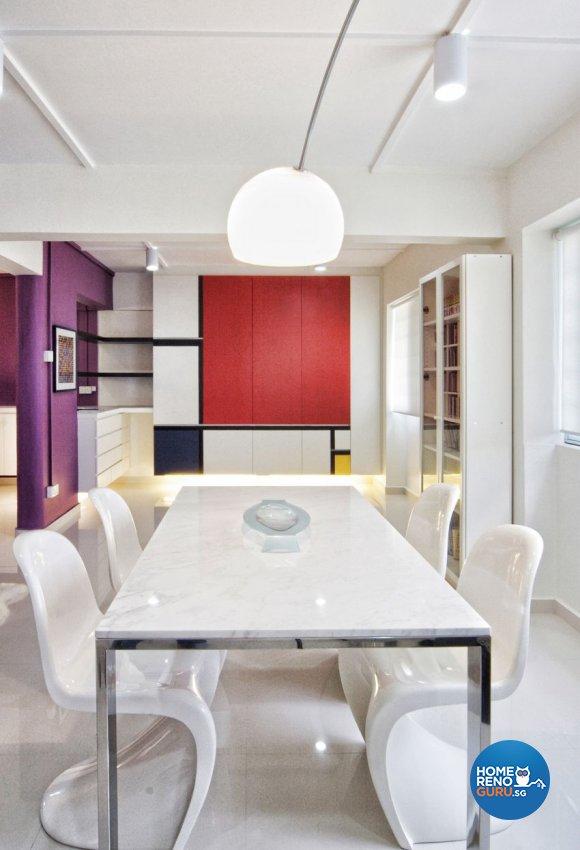 Contemporary, Minimalist, Modern Design - Dining Room - HDB 5 Room - Design  by