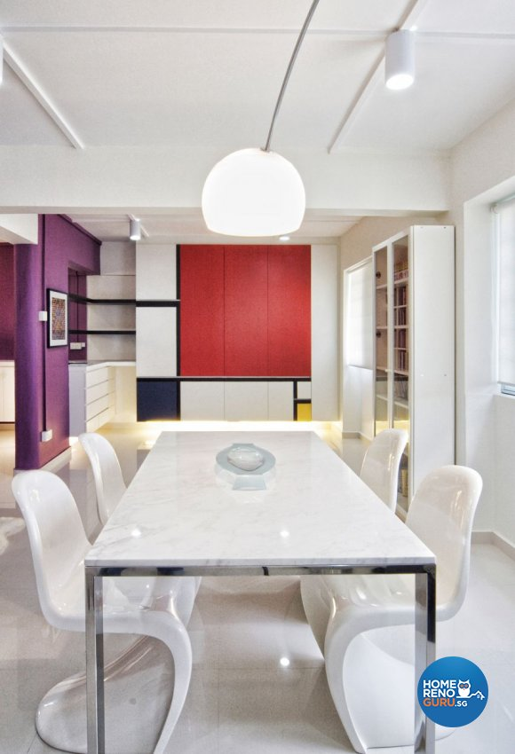 Contemporary, Minimalist, Modern Design - Dining Room - HDB 5 Room - Design by Artrend Design