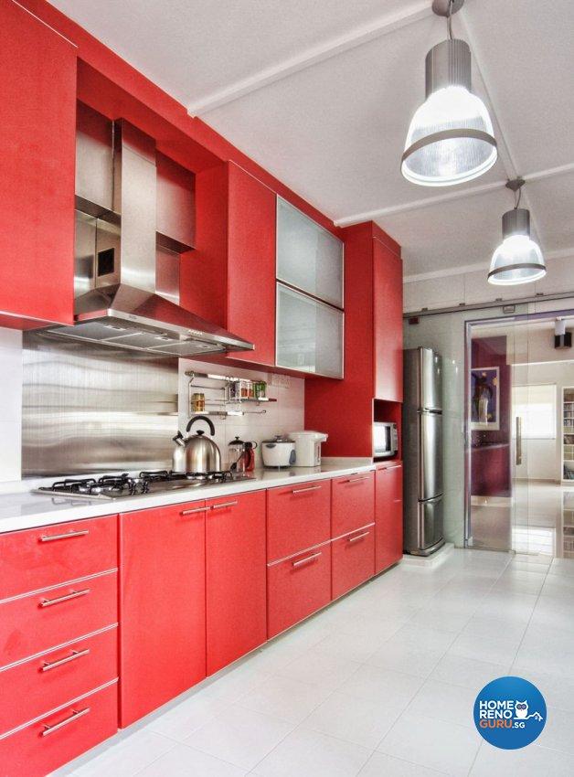 Contemporary, Minimalist, Modern Design - Kitchen - HDB 5 Room - Design by Artrend Design