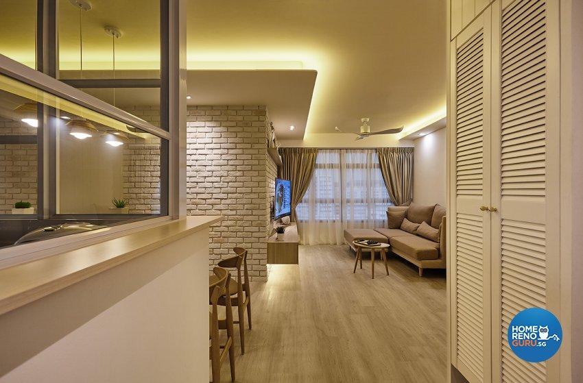 Classical, Scandinavian Design - Living Room - HDB 4 Room - Design by Artrend Design