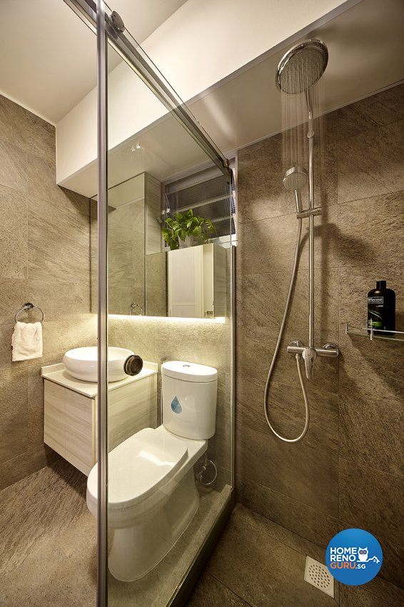 Classical, Scandinavian Design - Bathroom - HDB 4 Room - Design by Artrend Design