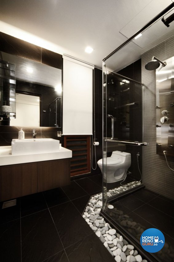 Classical, Contemporary, Scandinavian Design - Bathroom - Landed House - Design by Artrend Design
