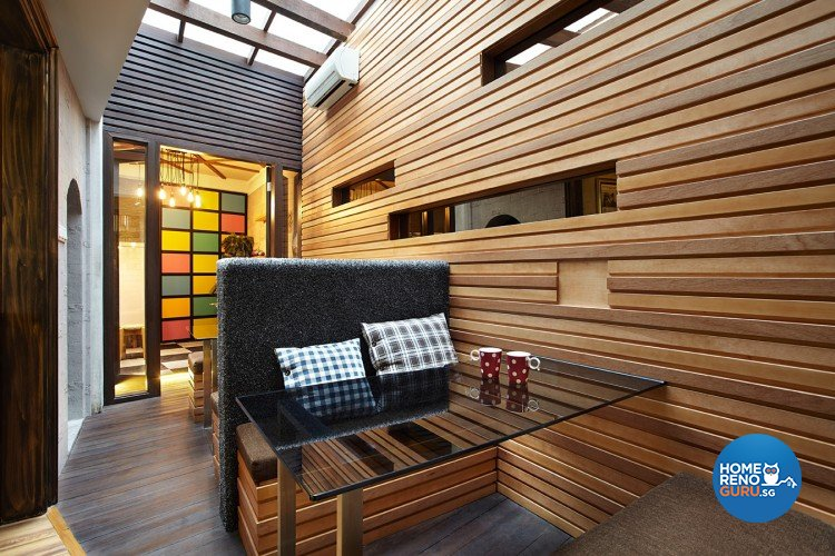 Classical, Industrial, Modern Design - Study Room - Landed House - Design by Artrend Design