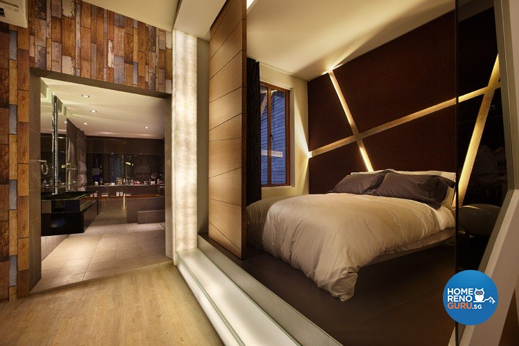 Classical, Industrial, Modern Design - Bedroom - Landed House - Design by Artrend Design