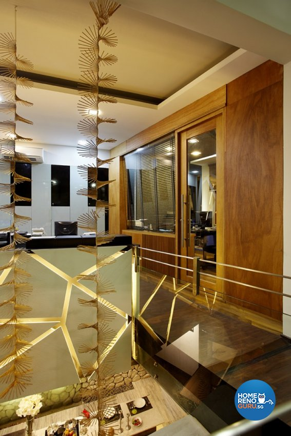 Classical, Industrial, Modern Design - Living Room - Landed House - Design by Artrend Design