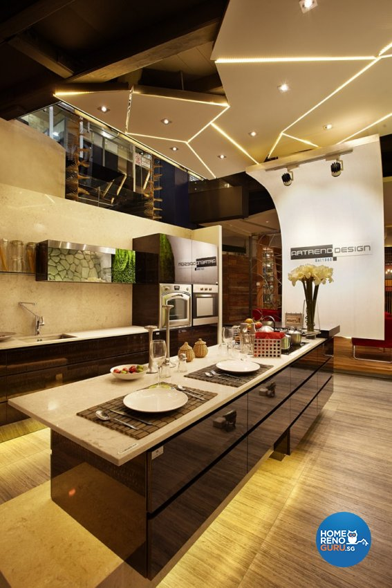 Classical, Industrial, Modern Design - Kitchen - Landed House - Design by Artrend Design