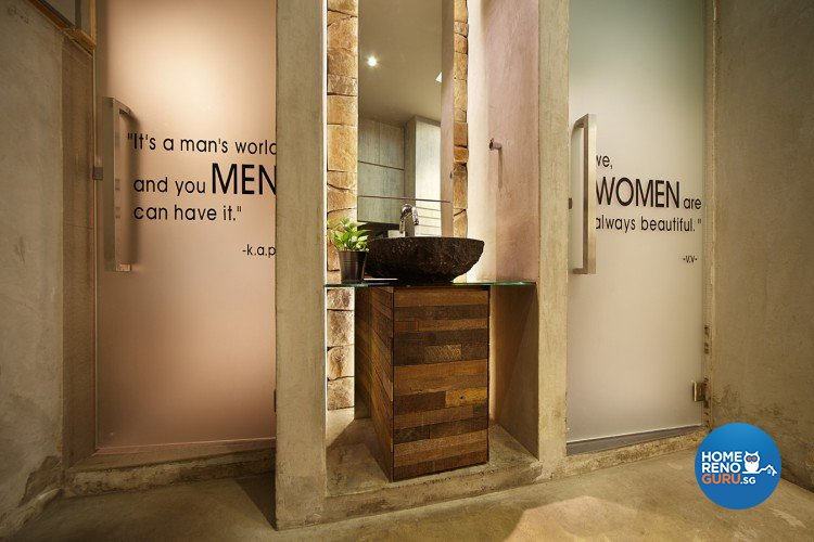 Classical, Industrial, Modern Design - Bathroom - Landed House - Design by Artrend Design