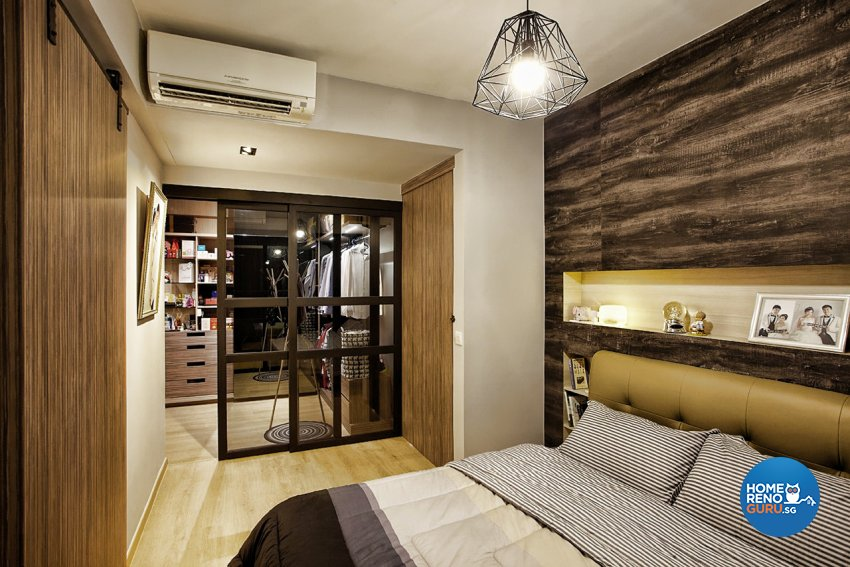 Contemporary, Industrial, Scandinavian Design - Bedroom - Condominium - Design by Artrend Design