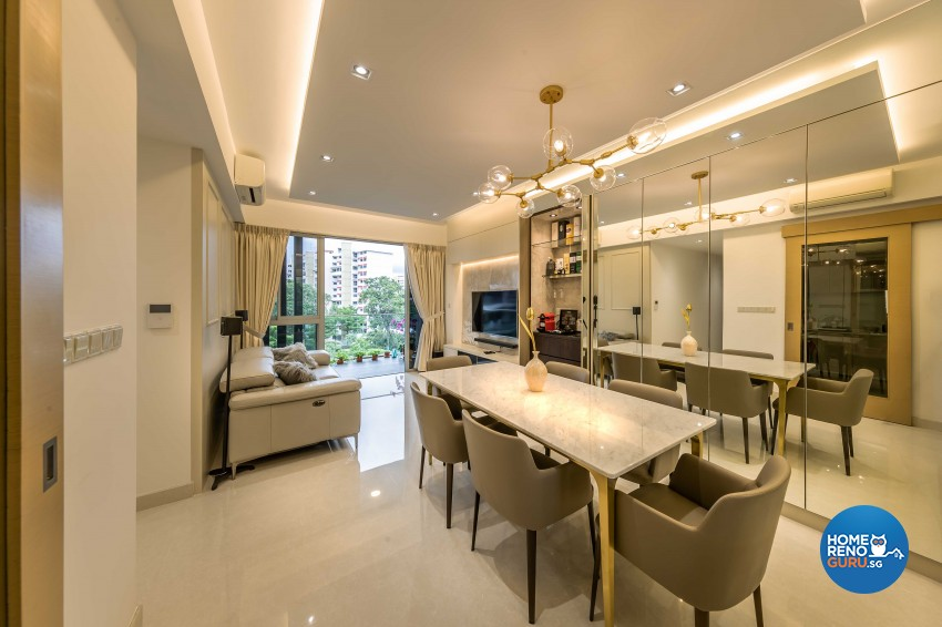 Modern Design - Dining Room - Condominium - Design by ARTS 2 DESIGN STUDIO PTE LTD