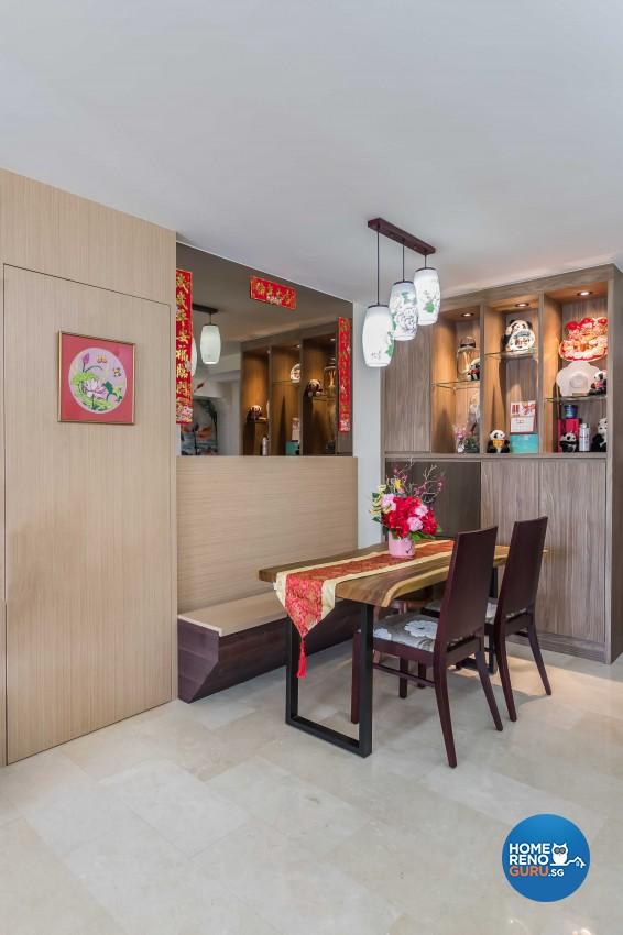 Modern, Victorian Design - Living Room - HDB 4 Room - Design by ARTS 2 DESIGN STUDIO PTE LTD