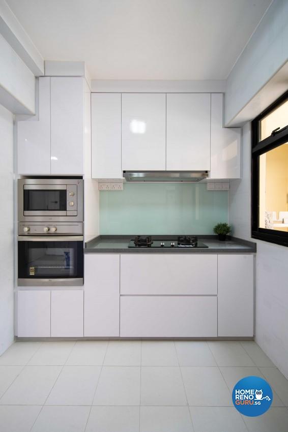 Modern Design - Kitchen - HDB 5 Room - Design by ARTS 2 DESIGN STUDIO PTE LTD