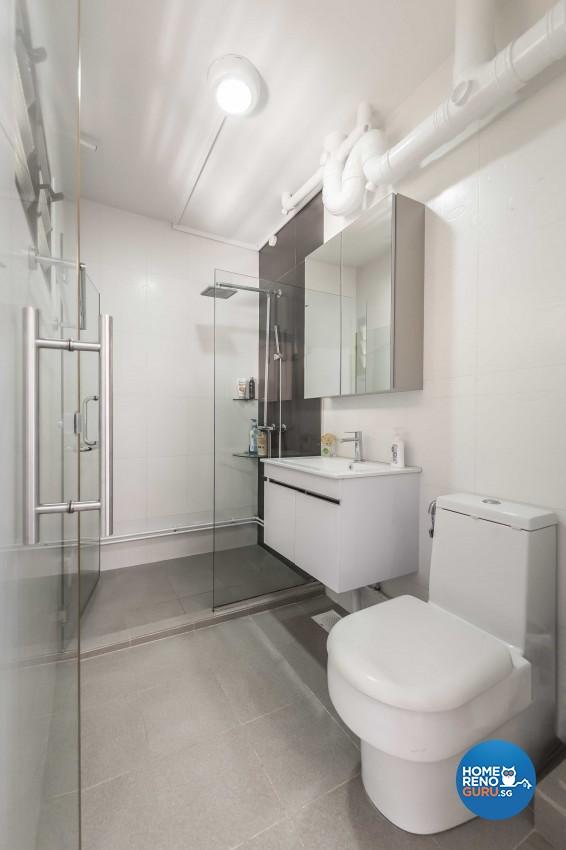 Modern Design - Bathroom - HDB 5 Room - Design by ARTS 2 DESIGN STUDIO PTE LTD