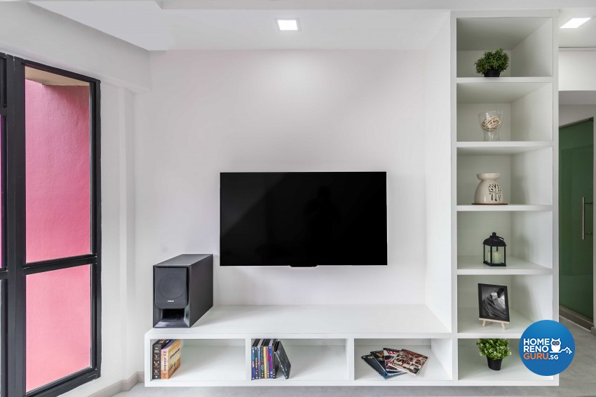 Modern Design - Living Room - HDB 5 Room - Design by ARTS 2 DESIGN STUDIO PTE LTD