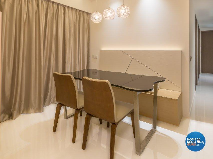 Modern, Scandinavian Design - Dining Room - Condominium - Design by ARTS 2 DESIGN STUDIO PTE LTD