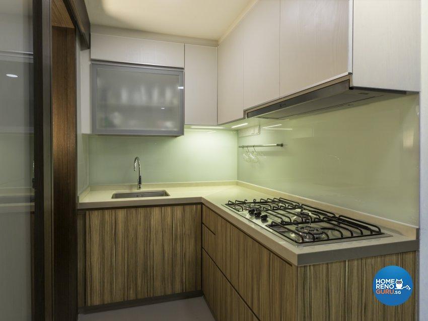 Modern, Scandinavian Design - Kitchen - Condominium - Design by ARTS 2 DESIGN STUDIO PTE LTD