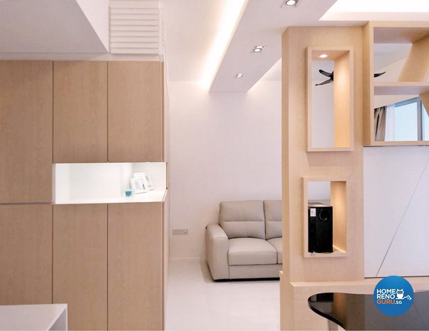 Modern, Scandinavian Design - Living Room - Condominium - Design by ARTS 2 DESIGN STUDIO PTE LTD