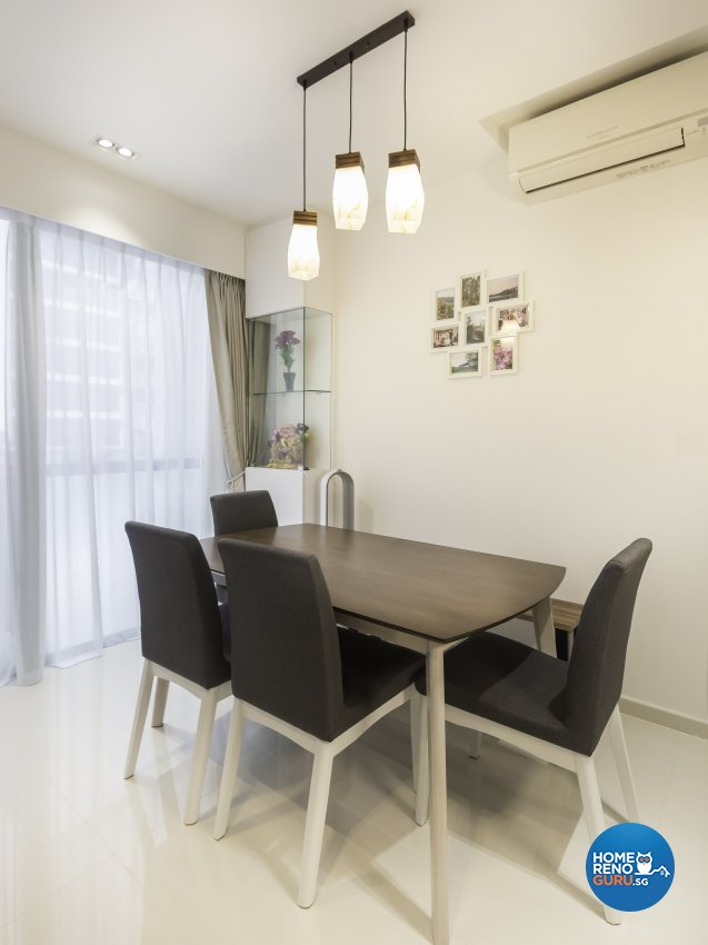 Contemporary Design - Dining Room - Condominium - Design by ARTS 2 DESIGN STUDIO PTE LTD