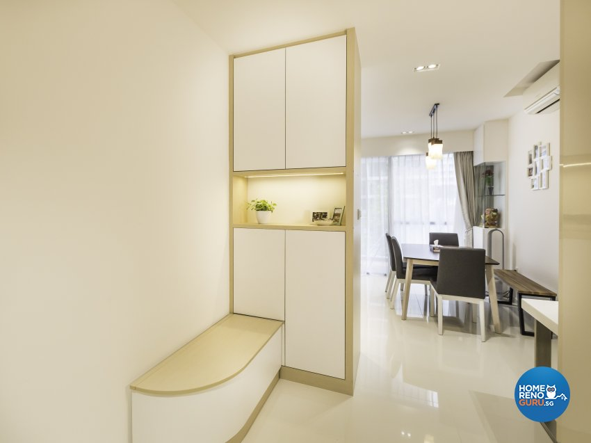 Contemporary Design - Living Room - Condominium - Design by ARTS 2 DESIGN STUDIO PTE LTD