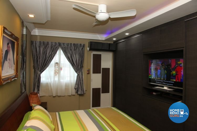Contemporary, Retro Design - Bedroom - HDB 5 Room - Design by Arts Advance Pte Ltd