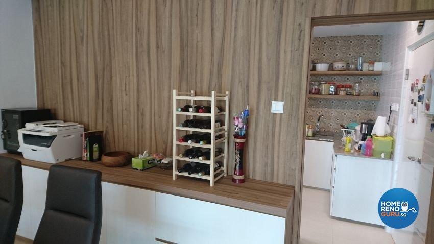 Contemporary Design - Dining Room - HDB 5 Room - Design by Arts Advance Pte Ltd