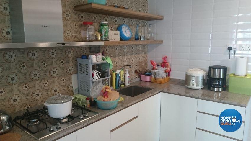 Contemporary Design - Kitchen - HDB 5 Room - Design by Arts Advance Pte Ltd
