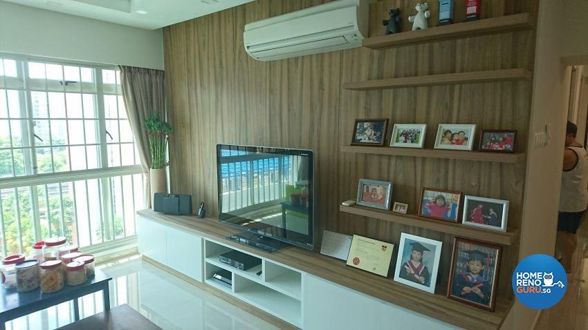 Contemporary Design - Living Room - HDB 5 Room - Design by Arts Advance Pte Ltd