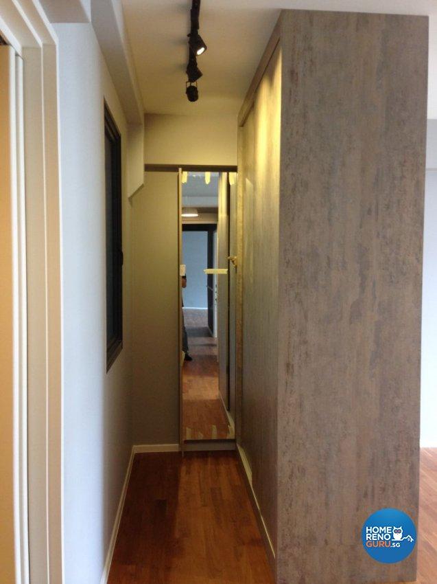 Retro, Scandinavian Design - Bedroom - HDB 5 Room - Design by Arts Advance Pte Ltd