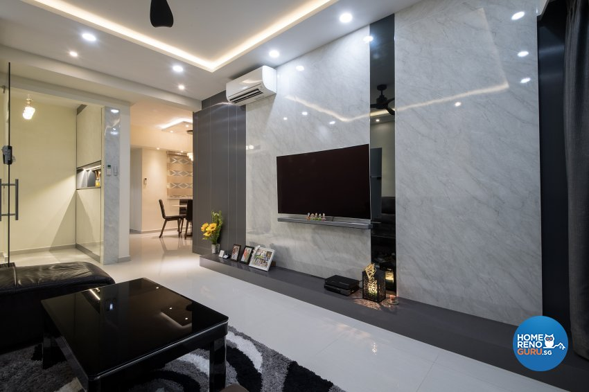 Contemporary, Modern Design - Living Room - Condominium - Design by Arts Advance Pte Ltd