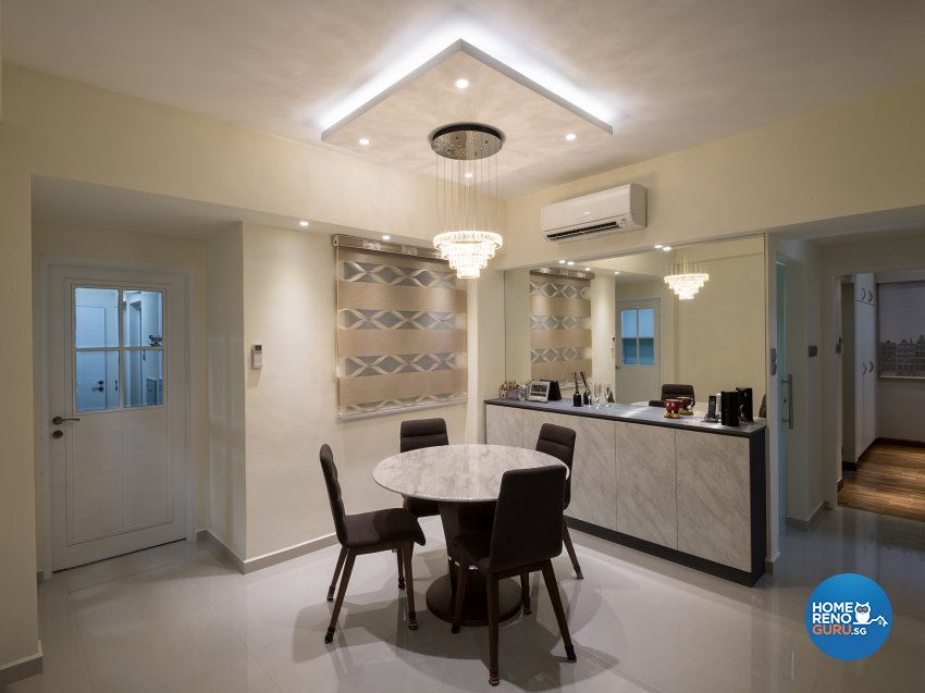 Contemporary, Modern Design - Dining Room - Condominium - Design by Arts Advance Pte Ltd